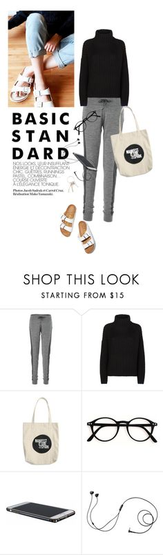 """""""BasicStandard"""" by reginakos ❤ liked on Polyvore featuring Olsen, Birkenstock, Icebreaker, Victoria, Victoria Beckham, Marshall, Givenchy, SimpleOutfits, basic and jogger"""