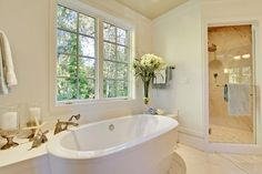 Decking around free standing tub | Tub And Shower Combined Design Ideas, Pictures, Remodel, and Decor - page 11