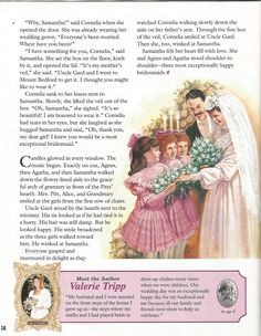"""American Girl Magazine - January 1993/February 1993 Issue - Page 19 (Part 9 of """"A Most Exceptional Bridesmaid"""" - A """"Samantha Parkington"""" Story by Valerie Tripp for American Girl)"""
