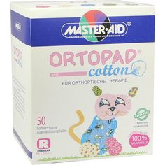 ORTOPAD cotton girls regular Augenokklusionspflas:   Packungsinhalt: 50 St Pflaster PZN: 05394073 Hersteller: Trusetal Verbandstoffwerk…