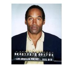 "Simpson may have been found ""not guilty"" of murdering his ex-wife Nicole Simpson in 1994, but that doesn't mean anyone believes him. He got off that charge, but 14 years later he found guilty of armed robbery and kidnapping, and was sentenced to 9 years in prison.   9 Crazy Celebrity Mugshots - Instant Checkmate http://blog.instantcheckmate.com/9-crazy-celebrity-mugshots/#"
