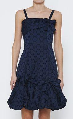 Anna Sui Navy And Black Dress | VAUNTE
