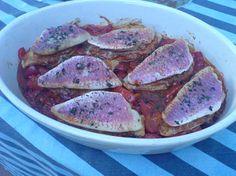 Filets de rougets à l'Italienne