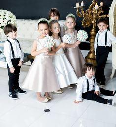 Criançada do casamento de Atanisa Paiva Santos e Zenon Fabre Junior, em Floripa.