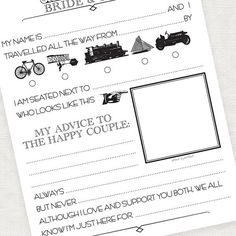 Alternative Wedding Guest Book Customizable Font Colors Format