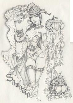 Samhain Holiday by ~Anyae on deviantART
