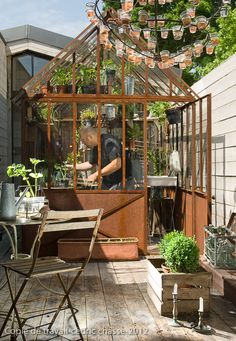 1000 images about invernadero on pinterest greenhouses - Serre maison du monde ...