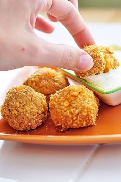 Buffalo Chicken Balls!
