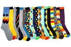 18 Pairs of John Weitz Men Socks for $31 - gift idea