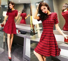 Red heart Dress, $39. #Pre-order#Shipping Worldwide. Want to buy it. Contact us, สนใจสั่งซื้อติดต่อเรา.   Store Website : https://yourstylenina.ecwid.com/  , or ID Line:  yourstylenina , or  FB:  https://www.facebook.com/pages/Your-Style/370344776416837