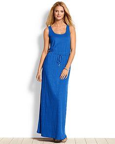 Tommy Bahama - Seneca Jersey Linen Maxi Dress