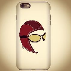 The Aviator Phone Case sold by Zazzle http://www.zazzle.com/jpaero Cafepress http://www.cafepress.com/jpaero/12958838  #pilot #phonecover #retrostyle #flying #iphonecase