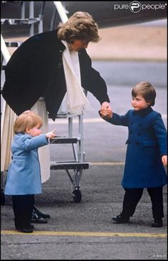 Princess Diana and the Princes - princess-diana-and-her-sons Photo