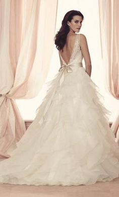 Paloma Blanca 4514 wedding dress currently for sale at 67% off retail.