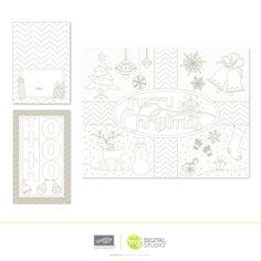 Color Me Christmas - Blogs - My Digital Studio