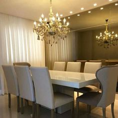 Dining Room Table Decor, Elegant Dining Room, Dining Area, Dinner Room, Creative Design, New Homes, Table Decorations, Interior Design, House