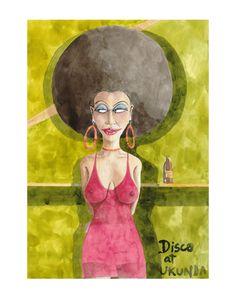 Marcus Goldson Fine Art Prints, Portraits, Gallery, Funny, Illustration, Painting, Art, Roof Rack, Art Prints