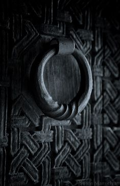 Black Old Armenian Doors