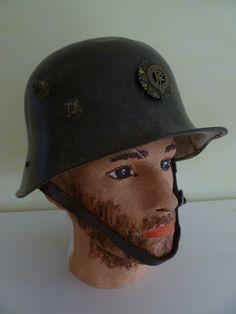 Helmet showing left hand side