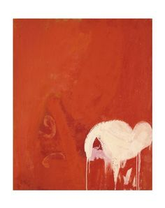 Minoru Kawabata Rouge Puissant [Loud Red] 1961 Oil on canvs, 162 x 130 cm. Art Walk, Oil On Canvas, Abstract Art, Neon Signs, Painting, Inspiration, Check, Art, Ink