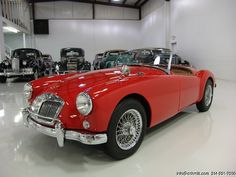 Daniel Schmitt & Co Presents: 1957 #MGA Roadster - Visit www.schmitt.com for more details! #classiccars