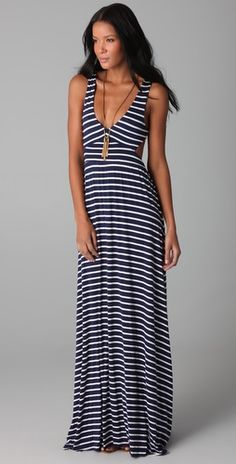 Striped Maxi Shop Bop
