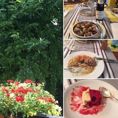Repas complet: escargots, tendron de veau et glace de Chez Bertillon