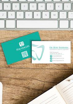 Névjegykártya tervezés a Fogvarázs fogászat részére. Computer Keyboard, Business Cards, Lipsense Business Cards, Computer Keypad, Keyboard, Name Cards, Visit Cards