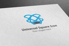 Universal Square Icon Logo by BdThemes on @creativemarket