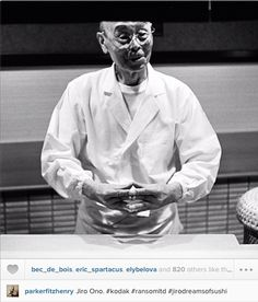 Instagrab #parkerfitzhenry #jiroono #jiroderamsofsushi Jiro Dreams Of Sushi, Joker, Japan, Foodies, Photography, Fictional Characters, Instagram, Blog, Fotografie