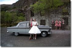 Self Drive Wedding Car - Style Rock and Roll Wedding Car Hire, Self Driving, 1950s Fashion, Rock And Roll, Ireland, Ford, Style, Swag, Rock Roll