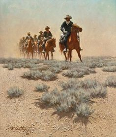 View Patrol by Frank McCarthy on artnet. Browse upcoming and past auction lots by Frank McCarthy. Native American Artists, African American History, Native American Indians, Old West Town, Art Students League, Cowboy Art, Classic Paintings, Le Far West, Art For Art Sake