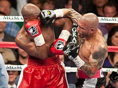 Ringside by Andreas Hale and Anthony Springer Jr. Photos by Chris Cozzone Las Vegas — Floyd Mayweather promised that he … Miguel Angel Cotto, Miguel Cotto, Puerto Rico, World Boxing, Boxing Champions, Love Box, Floyd Mayweather, Martial Artists, Fight Night