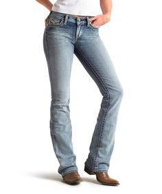 Love this Luna Antique Peony Jeans - Women & Plus on #zulily! #zulilyfinds