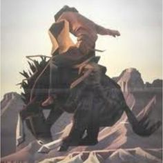 """Ed Mell's graphic art ... """"jack knife"""" looking to own this again:)"""