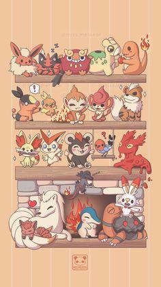 Pokemon Backgrounds, Cool Pokemon Wallpapers, Cute Pokemon Wallpaper, Cute Cartoon Wallpapers, Animes Wallpapers, Eevee Wallpaper, Iphone Wallpaper, Pokemon Poster, Pokemon Comics