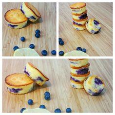 Grieß-Blaubeer Küchlein Pancakes, Breakfast, Food, Morning Coffee, Crepes, Griddle Cakes, Meals, Pancake, Morning Breakfast
