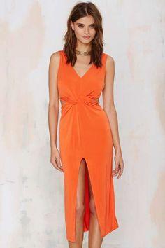 Glamorous It's Knot You Cutout Dress