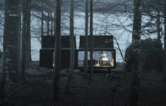 Vipp Shelter – Fully Furnished Metal Prefab House We are excited to be the first to introduce to you this brand new Vipp Shelter by Vipp. Vipp are not an architecture firm, they're a home products company … Prefab Cabins, Prefabricated Houses, Prefab Homes, K Om, Online Gallery, Garden Styles, Modern House Design, House Styles, Places