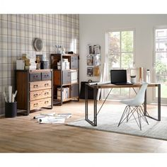 Schreibtisch Manchester I Ars ManufactiArs Manufacti Manchester, Office Desk, Modern, Furniture, Home Decor, Products, Dresser, Living Room Dresser, Drawers