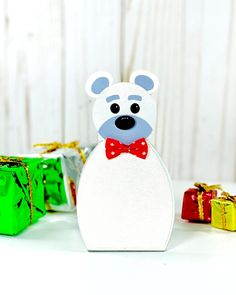 Our love from Santa die set is perfect for creating fun and festive favour boxes.    Project by Katy Young Favour Boxes, Crafters Companion, Festive, Favors, Santa, Pop, Create, Projects, Christmas