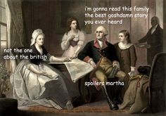 The Captioned Family!Adventures of George Washington. (Part I | Part II | Part III)