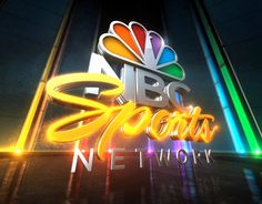 Hero logo animations for NBC Sports and NBC Sports Network.