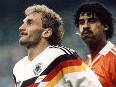 Frank Rijkaard & Rudy Voller