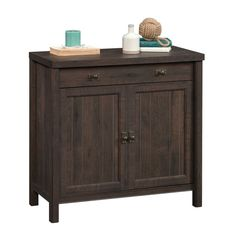 Laurel Foundry Modern Farmhouse Shelby 1 Drawer Accent Cabinet Color: C Hidden Storage, Storage Drawers, Storage Spaces, Door Storage, Small Cabinet, Large Drawers, Cabinet Colors, Cabinet Design, Panel Doors