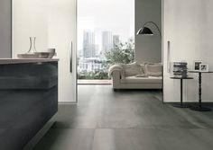 Great Metals flooring by Porcelaingres