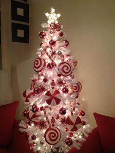 CHRISTMAS TREE~Sweet Peppermint Paradise tree