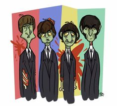 The Beatles zombies.