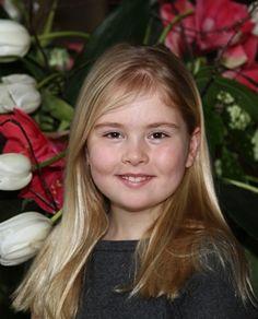child of Prince Willem-Alexander (Willem-Alexander Claus George Ferdinand) Prince of Orange, Netherlands heir & wife Princess Máxima Zorreguieta Cerruti Argentina.