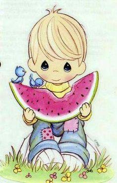 Clip Art - PM - Watermelon Yummy